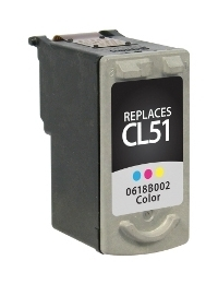 Canon CL-51 Compatible Inkjet Cartridge (330 page yield) - Color