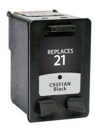 HP C9351AN #21 Compatible Inkjet Cartridge (190 page yield) - Black