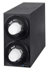 Sentry Bev Dispenser Cabinet (2) C5450C Black Trim Rings