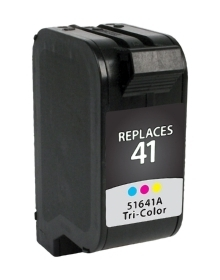 HP 51641A #41 Compatible Inkjet Cartridge (460 page yield) - Color