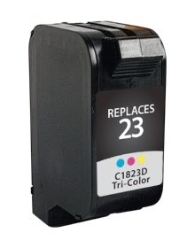 HP C1823D #23 Compatible Inkjet Cartridge (690 page yield) - Color