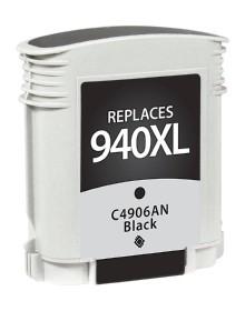 HP C4906AN #940XL Compatible Inkjet Cartridge (2200 page yield) - Black