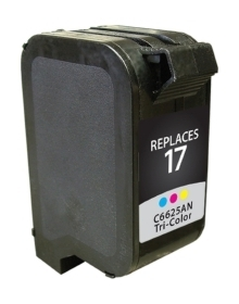 HP C6625A #17 Compatible Inkjet Cartridge (430 page yield) - Color