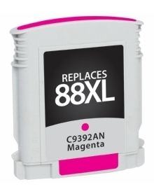 HP C9392AN #88XL Compatible Inkjet Cartridge (1400 page yield) - Magenta