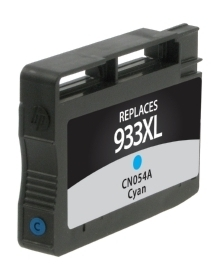 HP CN054AN #933XL Compatible Inkjet Cartridge (825 page yield) - Cyan