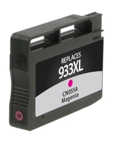 HP CN055AN #933XL Compatible Inkjet Cartridge (825 page yield) - Magenta