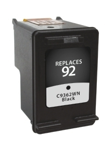 HP C9362WN #92 Compatible Inkjet Cartridge (200 page yield) - Black