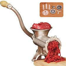 Manual Meat Grinder #8 (Tinned)