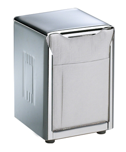 Tabletop Napkin Dispenser Lowfold - Chrome