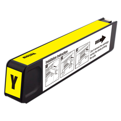 HP CN628AM #971XL Compatible Inkjet Cartridge (6600 page yield) - Yellow