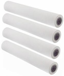 "36"" x 150' - 24# Premium Coated Color Bond Paper, 2"" Core (4 rolls/carton) - 95 Bright"