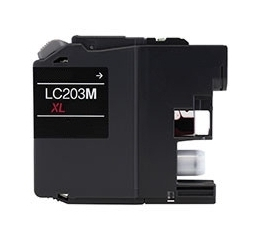 Brother LC203M Compatible Inkjet Cartridge (550 page yield) - Magenta