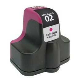 HP C8772WN #02 Compatible Inkjet Cartridge (370 page yield) - Magenta