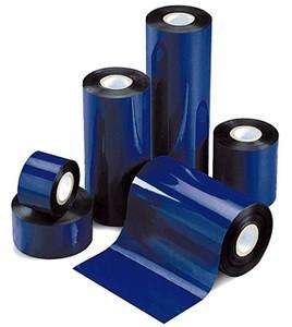 "4.33"" x 242'  Half Inch Wax Ribbons;  0.5"" core;  36 rolls/carton - plastic core"