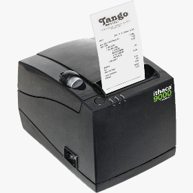 Ithaca 9000, Thermal Printer, 3 In 1, Plain or Sticky Paper, 40 58 or 80mm Paper Size, USB and Ethernet, Symitar Emulation, Dark Gray Cabinetry