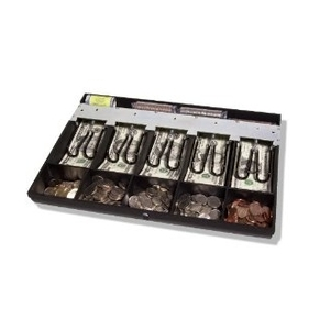 APG 15ta Cash Drawer Accessory Fixed Till Assembly 5 Bill 5 Coin With Coin Roll Storage.