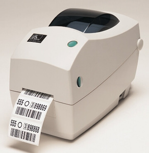 Zebra TLP2824 Plus Desktop Label Printer with USB, Serial, Dispenser (Peeler), Extended Memory, Real Time Clock