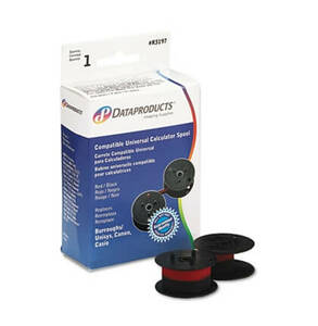Dataproducts R3197 Compatible Universal Calculator Ribbon (1 Ribbon) - Black/Red