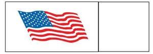 Napkin Bands (20,000 bands/case) - American Flag