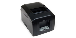 Star Micronics TSP654IIu-24 Gry Us, Thermal Printer, Cutter, USB, Gray, Power Supply Included, Interface Is Swappable