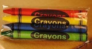 4-Pack Premium Cello Crayons (500 packs/case)