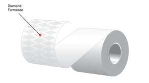 "3.125"" x 170'  MAXStick 21# Direct Thermal ""Sticky Paper"" (1 roll/case) - Diamond Adhesive"