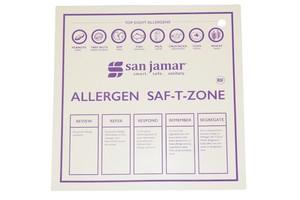 """Allergen Saf-T-Zone Mat - 12"""" x 12"""""""