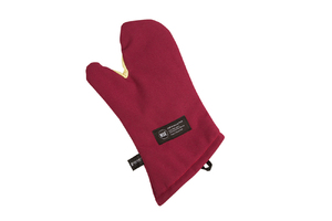 "Cool Touch Flame Conventional Oven Mitt w/Kevlar- Protects to 535 F - 13"" - NSF Listed"