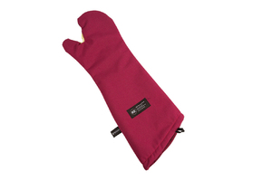 """Cool Touch Flame Conventional Oven Mitt w/Kevlar- Protects to 535 F - 24"""" - NSF Listed"""