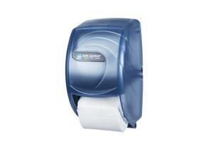 Duett Standard Toilet Paper Dispenser - Oceans - Arctic Blue