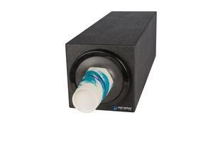 EZ-Fit Bev Dispenser Cabinet - (1) C2410C w/Black Trim Ring