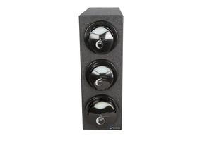 EZ-Fit Lid Dispenser Box System - (2) L2200C; (1) L2400C - Black Trim Rings