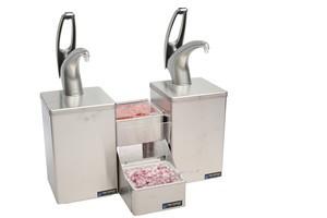 Frontline Dual Countertop System - Metal Finish Pump