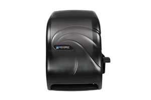 Lever Roll Paper Towel Dipsenser - w/Auto Transfer - Oceans - Black Pearl
