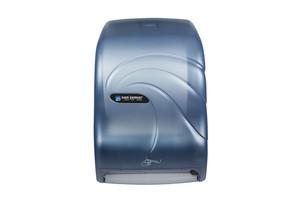 Smart System Paper Towel Dispenser w/IQ Sensor - Oceans - Arctic Blue
