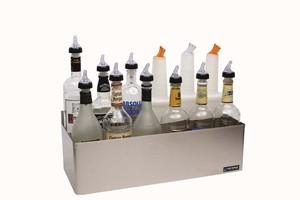 Stainless Steel Speed Rack Bottle Holders - Double - (10) Qt/Ltr Bottles