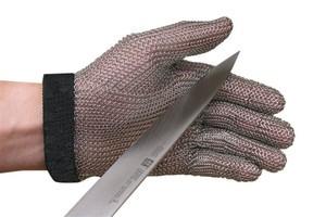 Steel Mesh 5 Finger Cut-Resistant Gloves