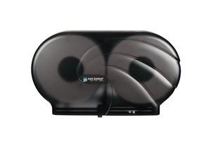 "Twin 9"" JBT Toilet Paper Dispenser Oceans - Black Pearl"