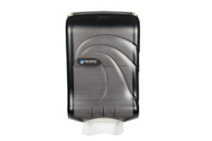 Ultrafold Large Cap Multifold/C-Fold Towel Dispenser - Oceans - Black Pearl