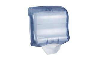 Ultrafold Multifold/C-Fold Towel Dispenser - Arctic Blue