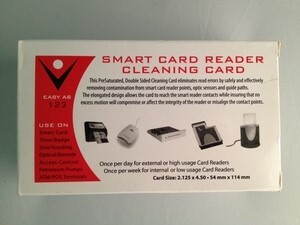 Smart Card Cleaning Card (50 / Box)