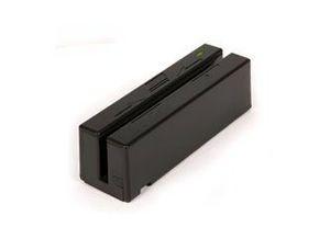 MagTek, Swipe Reader, Magnetic Card Reader, 3 Track, USB, Black