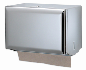 Singlefold Paper Towel Dispenser - Chrome