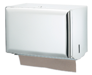 Singlefold Paper Towel Dispenser - White