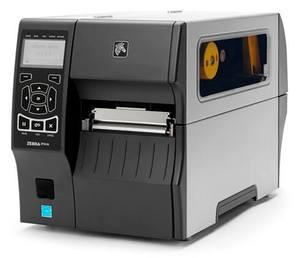 "Zebra ZT410 Industrial Label Printer - 4"" Print Width, 300 DPI, Rewind"