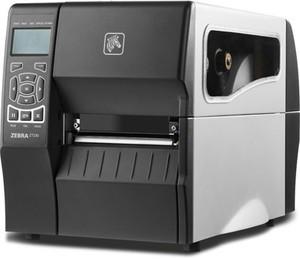 "Zebra ZT220 Industrial Label Printer with Thermal Transfer, 4"" Print Width, 203 DPI, 10/100 Ethernet"