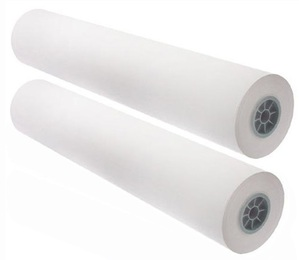 "24"" x 300' - 24# CAD Inkjet Bond Paper, 2"" Core (2 rolls/carton) - 88 Bright"