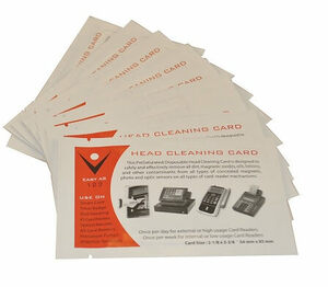 Card Reader Cleaning Swipe Cards (10 / box)