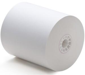 "3"" x 194'  1-Ply Bond Paper  (50 rolls/case)"