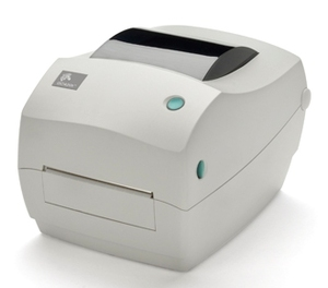 Zebra GC420 Desktop Label Printer with Thermal Transfer Print Mode, Dispenser (Peel)